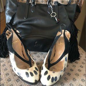 Christian Louboutin heels size 38.5